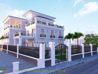 Villa von Công ty TNHH Thiết kế và Ứng dụng QBEST, Kolonial