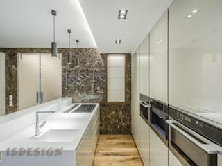 ISDesign group s.r.o. Built-in kitchens Marble Beige
