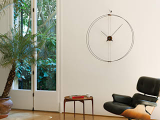Living Room Wall Styling: modern  by Just For Clocks,Modern