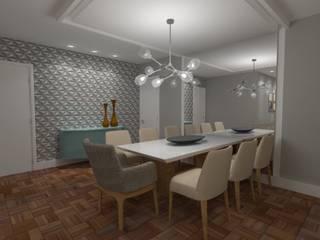 SALA DE JANTAR Salas de jantar modernas por MARTA AZEVEDO INTERIORES Moderno