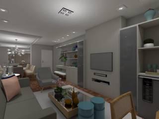 LIVING Salas de estar modernas por MARTA AZEVEDO INTERIORES Moderno