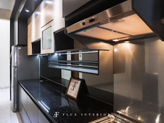 Modern Kitchen at Puri Botanical Garden Residences Flux Interior Dapur Modern
