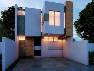 CASA CAOBAS de Alan Rangel Arquitecto Moderno Concreto