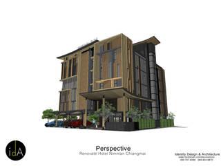 Renovate Hotel Nimmarn Chiangmai โดย Identity Design & Architecture Part.,Ltd มินิมัล