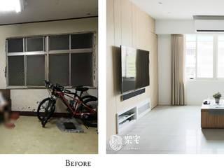 樂宅設計|內湖 金湖路公寓| 30年老屋重度舊翻新 根據 樂宅設計|系統傢俱