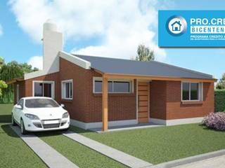 Casa a Construir Ideal Procrear: Casas de estilo  por Arq. Gustavo Piazza & Asociados