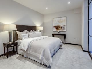 Dormitorios de estilo  por London Home Staging Ltd, Moderno