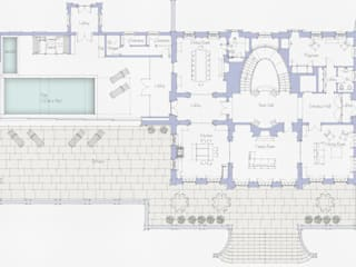 Floor Plan - Ground Floor:   by Prestige Architects By Marco Braghiroli