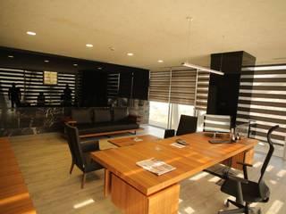 DerganÇARPAR Mimarlık  – İLHANLAR DEMİR ÇELİK OFİS :  tarz Ofis Alanları