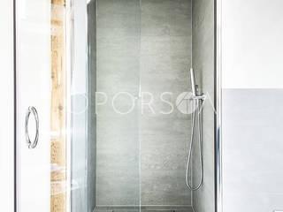 POMORSKA 16 Eklektyczna łazienka od OPORSKA.COM Eklektyczny