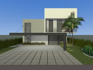 Residencial Bomk Casas modernas por PRETE Arquitetura Moderno