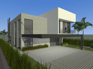 Residencial Bomk: Casas  por PRETE Arquitetura