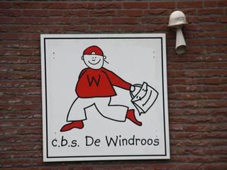Lagere school De Windroos Zuidhorn Moderne scholen van janny doornbos architektonische vormgeving Modern