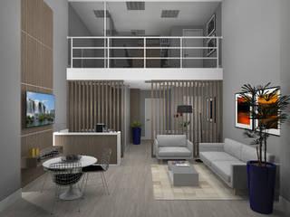 Sala Comercial Escritórios modernos por PRETE Arquitetura Moderno