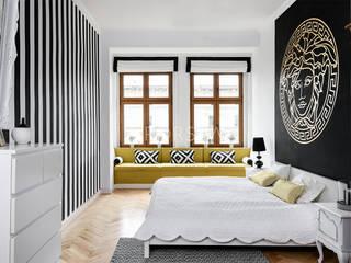 POMORSKA 14: styl , w kategorii Sypialnia zaprojektowany przez OPORSKA.COM,