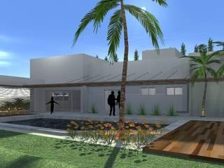 Residencial Prete: Casas  por PRETE Arquitetura