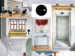 POMORSKA: styl , w kategorii Salon zaprojektowany przez OPORSKA.COM,
