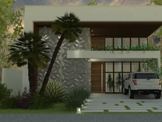 Projeto arquitetônico residencial: Condomínios  por Karen Veras Arquitetura,Moderno
