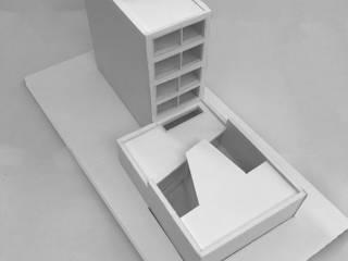Garage: modern  door Kevin Veenhuizen Architects, Modern