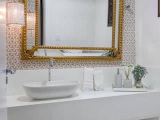 Residência Oliveira DM ARQUITETURA E ENGENHARIA Banheiros modernos