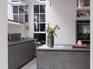 Listed Townhouse Macclesfield Modern kitchen by guy taylor associates Modern