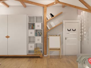 Nursery/kid's room by InSign Pracownia Projektowa Karolina Wójcik,