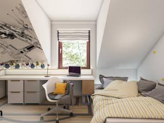 DbGrn_01: styl , w kategorii Pokój dziecięcy zaprojektowany przez InSign Pracownia Projektowa Karolina Wójcik