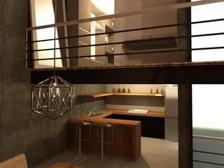 Cocina: Cocinas equipadas de estilo  por Perfil Arquitectónico