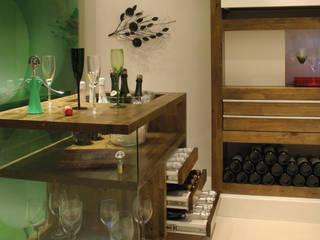 Modern wine cellar by MARIA FERNANDA PEREIRA Modern