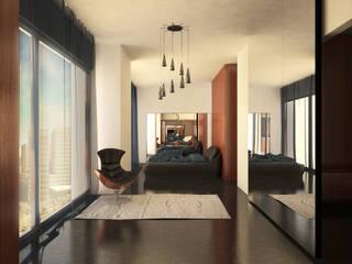 Projecto de Interiores: Quartos  por HAN ,Moderno