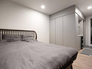 현장조립이 가능한 모듈러건축 브랜드,마룸 모던스타일 침실 by 마룸 모던