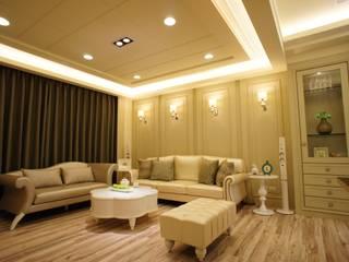 Salones clásicos de 棠豐室內裝修設計工程有限公司 Clásico