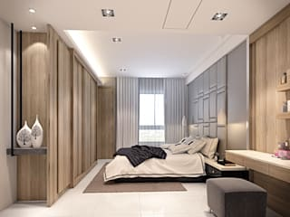 棠豐室內裝修設計工程有限公司 Cuartos de estilo moderno