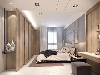 Modern style bedroom by 棠豐室內裝修設計工程有限公司 Modern