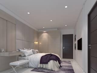 圓..方..宅 棠豐室內裝修設計工程有限公司 臥室