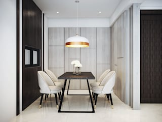Modern dining room by 棠豐室內裝修設計工程有限公司 Modern