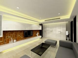 中國重慶鄒公館設計案 根據 劉旋設計事務所/劉旋工程有限公司 簡約風
