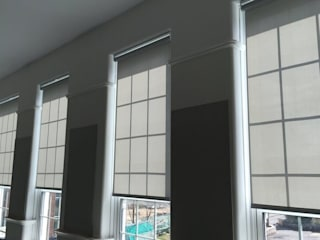Roller Blinds de Aquarius Blinds Clásico