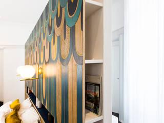 Appartement Badia Tikki: Chambre de style  par Agence hivoa