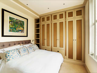 Chelsea Maisonette - London Quartos modernos por Prestige Architects By Marco Braghiroli Moderno