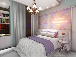 Modern style bedroom by Okla Arquitetura Modern