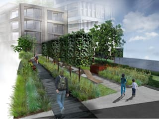Chelsea Creek Public Realm Concept by Aralia Сучасний
