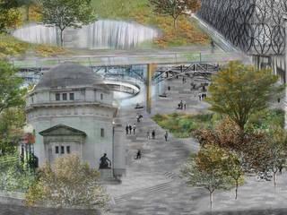 Birmingham Centenary Square Competition & Concept by Aralia Сучасний
