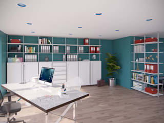 Bürowand NOX:   von FRANK Schranksysteme GmbH & Co. KG