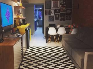 Projeto I|E Salas de estar modernas por Patricia Bonadia Arquitetura Interiores e Feng Shui Moderno