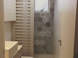 Projeto E|C Banheiros modernos por Patricia Bonadia Arquitetura Interiores e Feng Shui Moderno