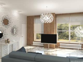 Дизайн-проект интерьера квартиры в Уфе: Гостиная в . Автор – A&D-interior