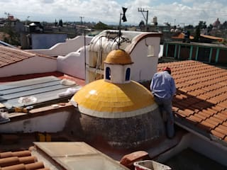 Restauración de Cúpula en casa centro de Metepec. de Arkisav Ecléctico
