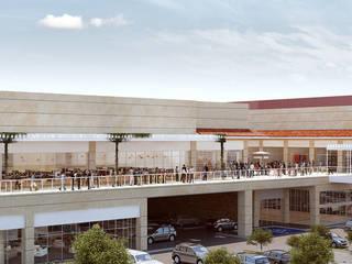 Macro Plaza Oaxaca Centros comerciales de estilo moderno de Taller73 arquitectura, ingeniería e interiorismo Moderno