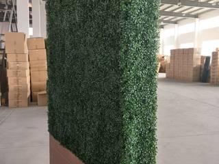 Artificial hedges in Planter Sunwing Industries Ltd Murs & SolsPapier peint